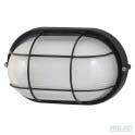 Oval caged bunker black