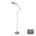Selene chrome pharmacy  floor lamp