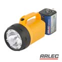 Rhyno 6 volt lantern torch with bonus battery