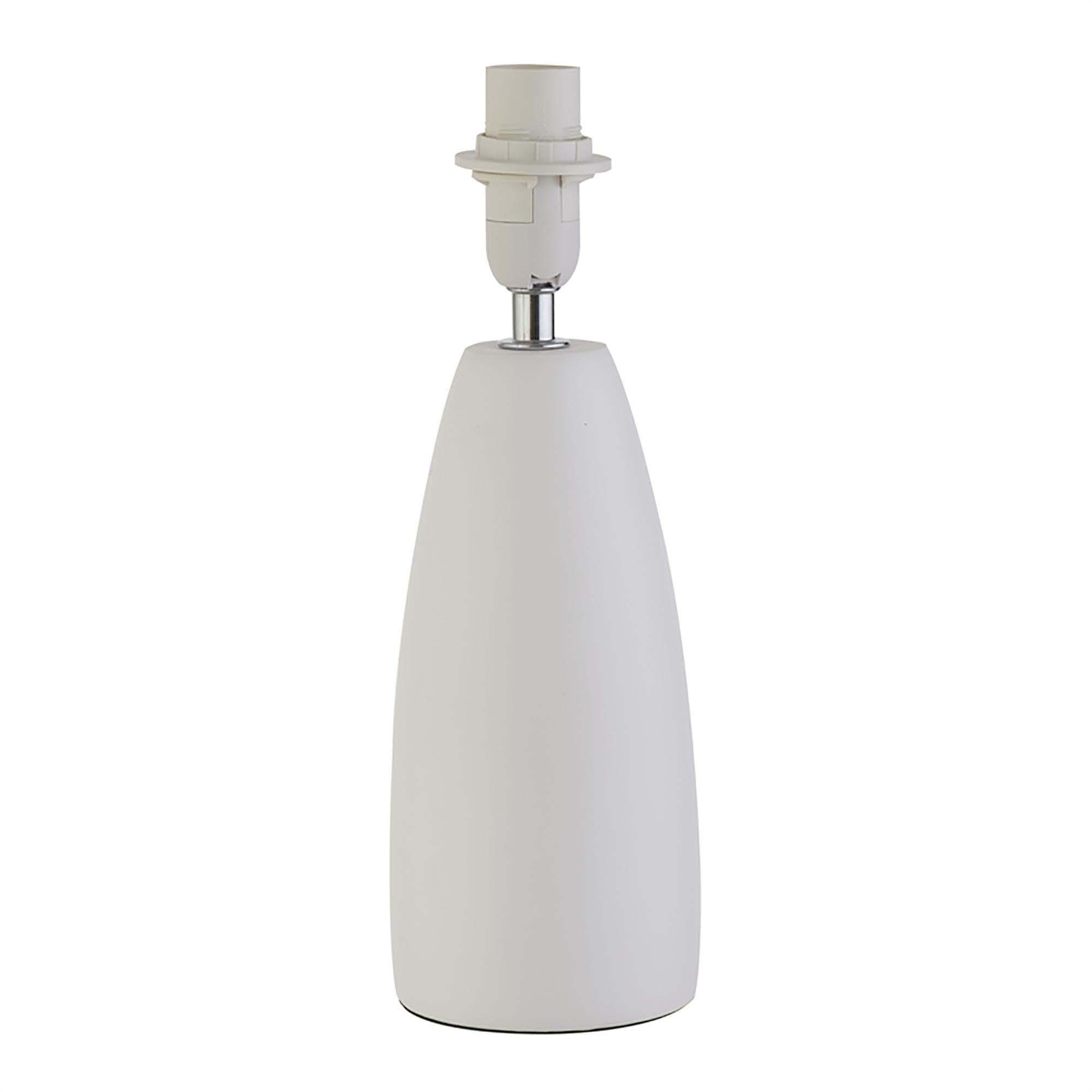Verve design 28.5cm ceramic bonn lamp base