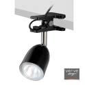 Halogen clamp lamp gu10 35w black