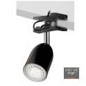 Led clamp lamp e14 3w gloss black
