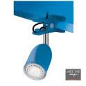 Led clamp lamp e14 3w gloss blue