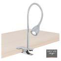 Studio led clamp lamp 5w chrome