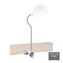 Maxx clamp lamp e14 40w white