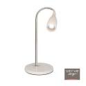 Delia led desk lamp white