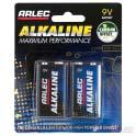 Alkaline battery - 2 x 9 volt