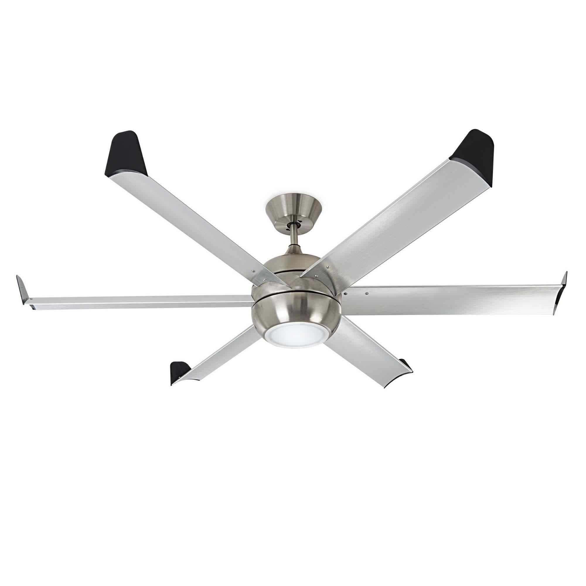 150cm dc 6 blade aluminium ceiling fan