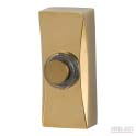 Wired brass finish bell push