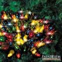 50 multi coloured budlights no controller