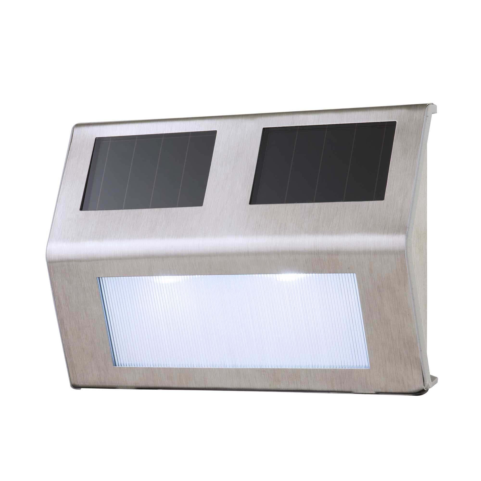 Ordos solar garden step light - 2 pack