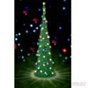 1m slim pop up xmas tree