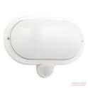 Thaleia oval bunker light with pir sensor