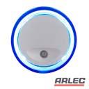 240v blue o shaped auto sensor led night light