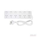 6 outlet 6 switch power board