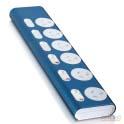 Elektek surge protected 6 outlet power board blue
