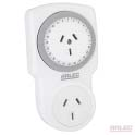 Twin socket 24 hour timer