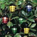 20 led multi coloured party lanterns