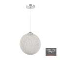 Lexie 40cm paper white string pendant