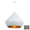 Talah pendant white/gold 50cm e27 60w
